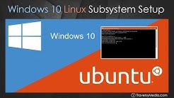 Windows 10 Bash & Linux Subsystem Setup