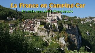 La France en Camping-Car:  Saint Cirq Lapopie