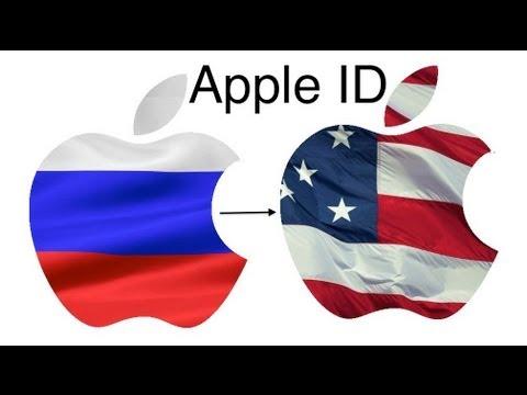 Меняем страну в Apple ID
