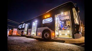 Así son por dentro los novedosos buses 100% eléctricos que llegaron a Medellín