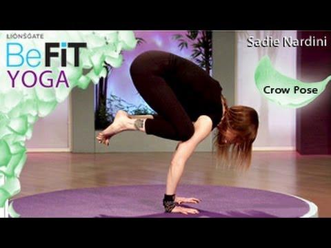 Yoga Crow Pose: Sadie Nardini- BeFit Yoga