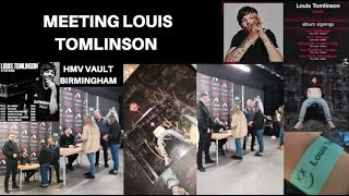 MEETING LOUIS TOMLINSON