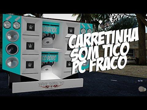 Carretinha De Som Tico Doido PC Fraco