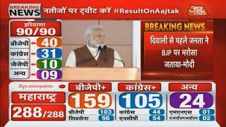 Election Results 2019: नतीजों पर बोले PM Modi, Haryana बीजेपी को जितनी बधाई दूं कम है