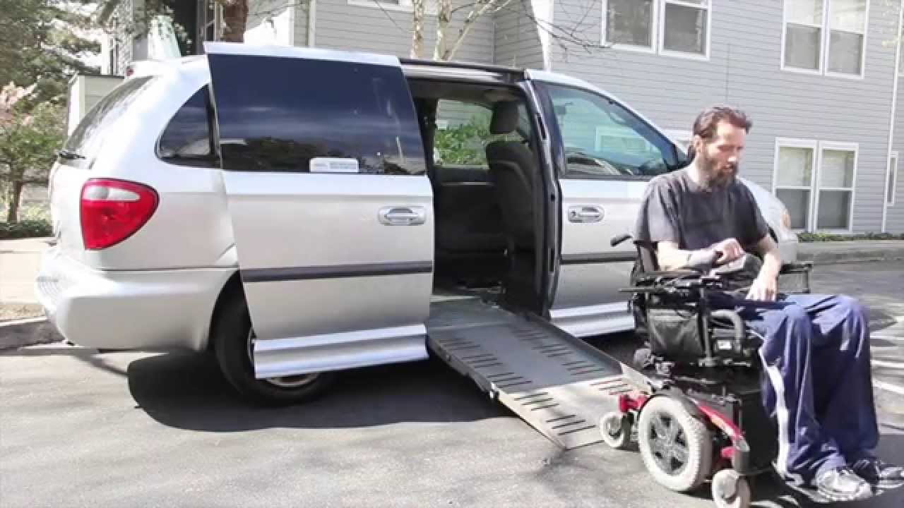 Handicap Minivan Wheelchair Accessible Van Youtube