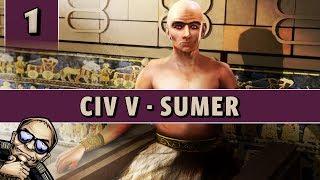 Civilization 5 VP - Let's Play Sumer [Modded] - Part 1