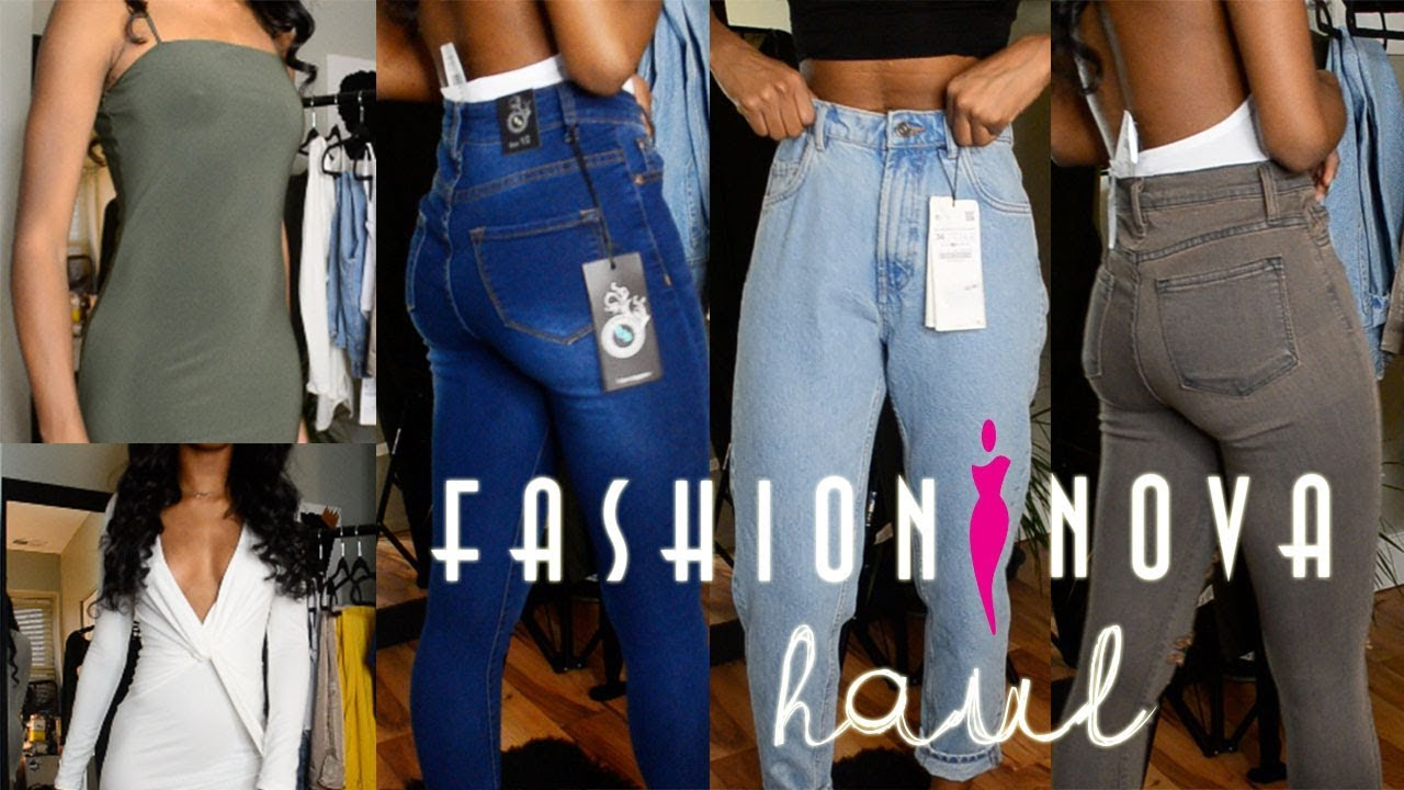 later customers first new collection Fashion Nova Try-On Haul: Skinny Girl Approved? || Naomi Amber