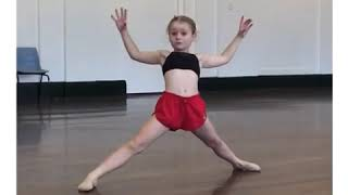 Holly amazing dancer and gymnast