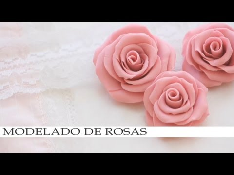 Modelado de rosas para plastilina barro ceramica fria for Ceramica artesanal como se hace