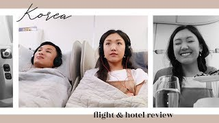 First time in Korea! Flight, Airport & Hotel reviews