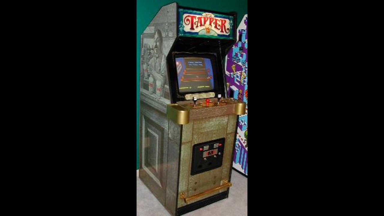 Bar install with cabinets and soundtrack youtube - Tapper Arcade Music Level 1 Saloon