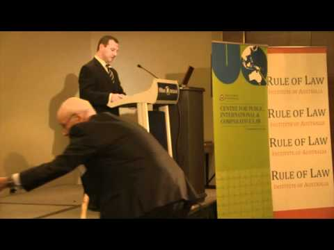 The Rule of Law Contemporary Issues Brisbane Conference 2012 Session One (part 2)