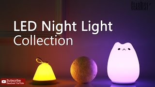 LED Night Light Collection - Gearbest.com