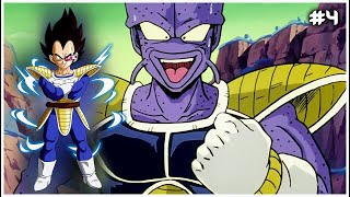 Vegeta destruye al chulito Cui - Directo #4 - Dragon Ball Z Kakarot