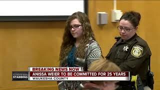 Slender Man Stabbing: Weier sentenced to 25 years in mental institution