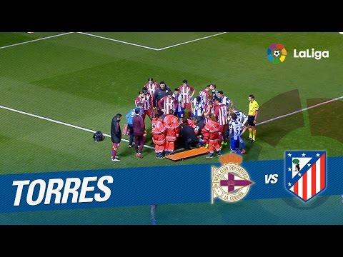 Fernando Torres da el susto en Riazor