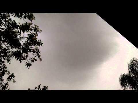 Lightning strike in San Jacinto California