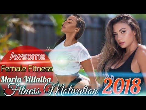 Awsome Female Fitness by Maria Villalba 2018