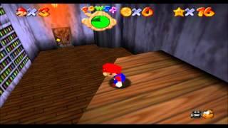Super Mario 64: Course 5 - Big Boo's Balcony