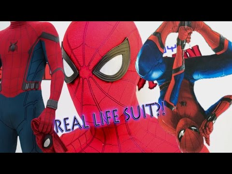Spider-Man: Homecoming REAL LIFE SUIT! Unboxing and Review [Prototype]