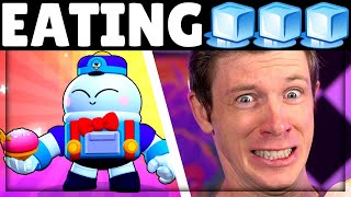 Eating 🧊🧊🧊 until I get Lou! | How many Gems & Mega Boxes!?