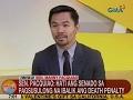 UB: Sen. Pacquiao: Hati ang Senado sa pagsusulong na ibalik ang Death Penalty Bill