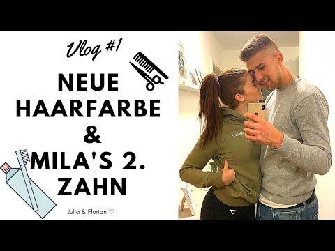 Neue Haarfarbe 😱 I Unser 1. Vlog I Julita ♡