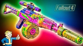 Fallout 4 Nuka World Лучшее оружие ТОП 1