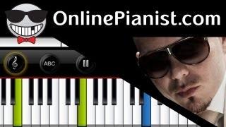 Pitbull ft. Shakira - Get it Started - Piano Tutorial