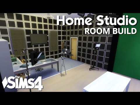 The Sims 4 Room Build - Home Studio
