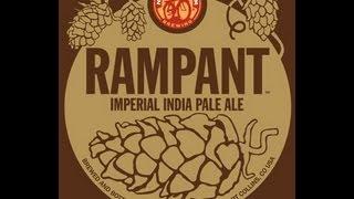 """New Belgium """"Rampant"""" Imperial IPA, review #36"""