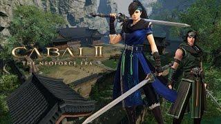 Cabal 2 (KR) - Blader class gameplay footage