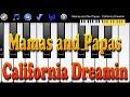 Mamas and Papas  - California Dreamin - How to Play Piano Melody