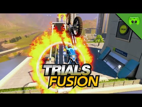 ES GEHT TOTAL STEIL! 🎮 Trials Fusion #12