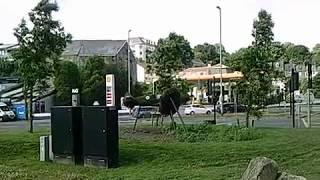 Truro Cornwall Trafalgar Roundabout
