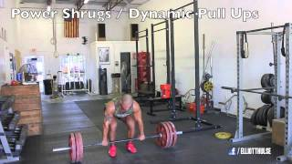 Power Clean Workout (STRENGTH & POWER TRAINING)