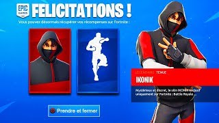 "VOICI 3 NEW FACTS TO HAVE THE SKIN ""IKONIK"" FREE ON FORTNITE!"