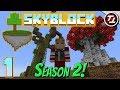 Minecraft SkyBlock II: #1 - Season 2! Big Build Plans!