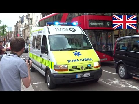 St John Ambulance responding in heavy traffic - SEG assist