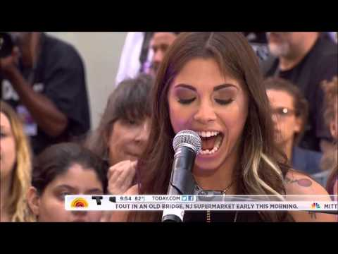 Christina Perri  ,HD, Jar of Hearts , Live Today Show 2012,HD 720p