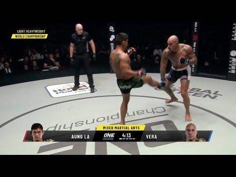 (Aung La N Sang vs. Brandon Vera) One of my favorite ONE fights so far, they're beginning to impress