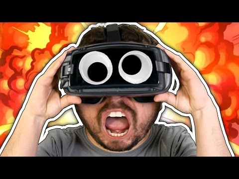 REALIDADE VIRTUAL NO CELULAR? - Samsung Gear VR