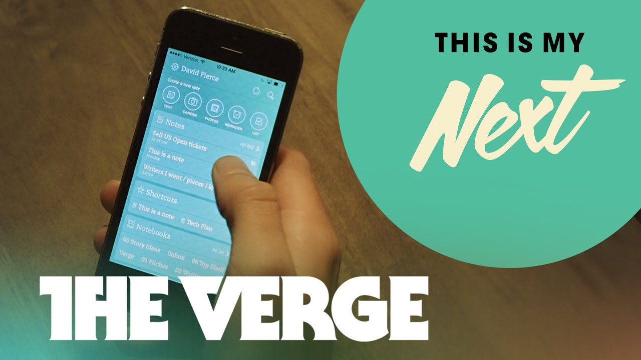 246db95ee08 The best note-taking apps for iPhone and Android - This Is My Next  Ep. 11. The  Verge