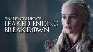 Game Of Thrones: Season 8: Leaked Plot Spoilers Confirmed | Full Breakdown Of The Finale | SPOILERS