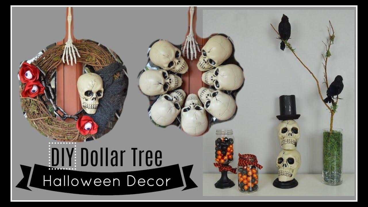 DIY DOLLAR TREE HALLOWEEN DECOR