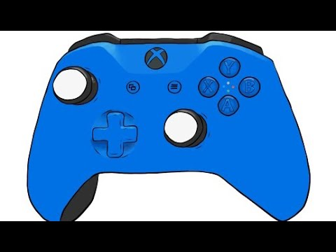 Xbox 360 Controller Drawing Adobe Draw Time...