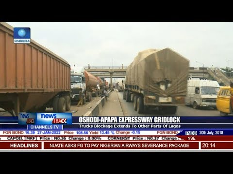 Oshodi Apapa Expressway Gridlock Extends To Other Parts Of Lagos