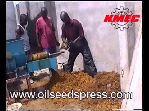 Palm kernel oil expeller from www.oilseedspress.com/