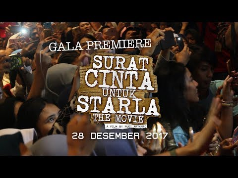 Cover Lagu Gala Premiere Surat Cinta Untuk Starla The Movie HITSLAGU