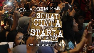 Gala Premiere Surat Cinta Untuk Starla The Movie